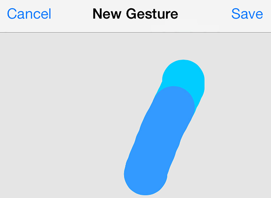 Assistive Touch iPhone new gesture