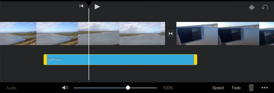 iMovie music featured