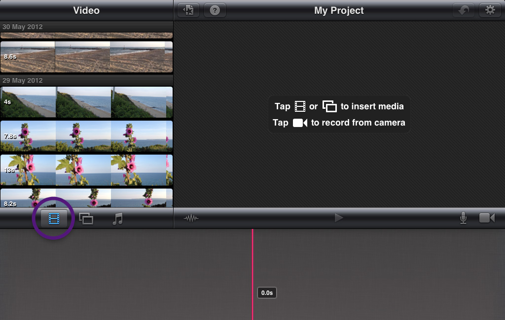 how to get imovie to play