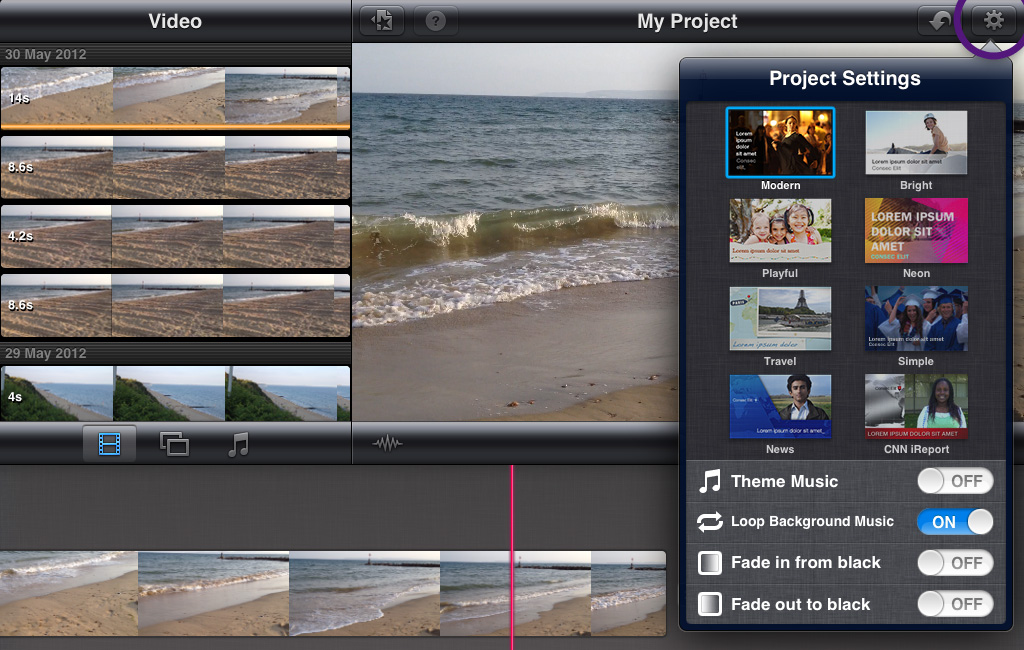 Learn how to use iMovie for iPad