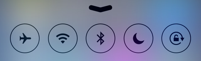 2 Control Center controls
