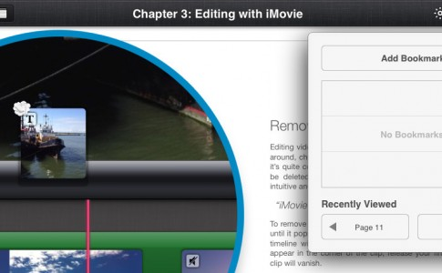 how to get rid of bookmarks on ipad