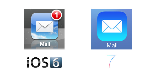 iOS 7 Icon Comparison