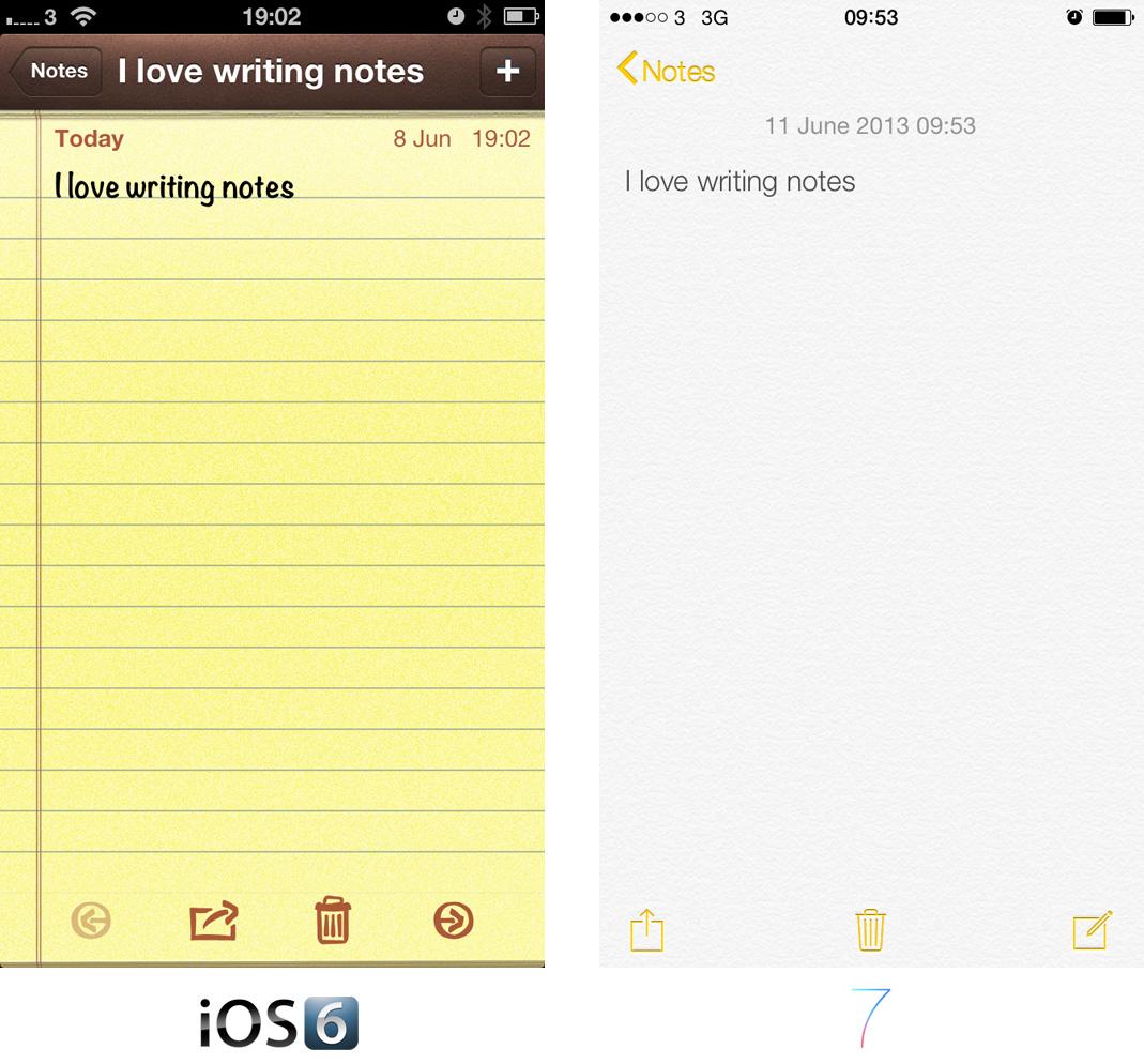 Notes App Comparison