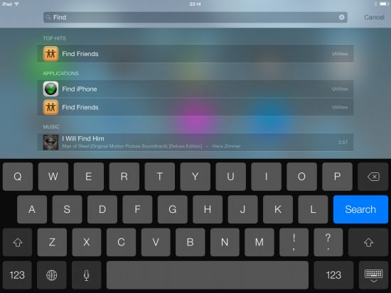 how to spotlight search on iphone 5