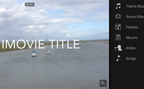 iMovie Title Featured
