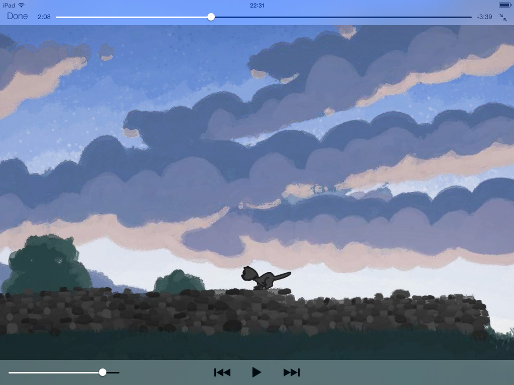 iOS 7 videos app iPad