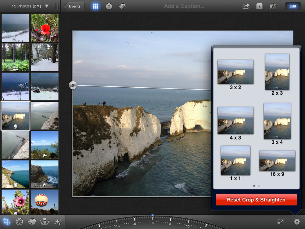 how to delete all photos from iphone using iphoto