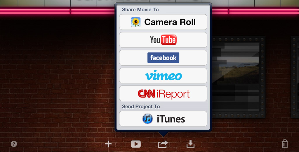 how to create lopp in imovie
