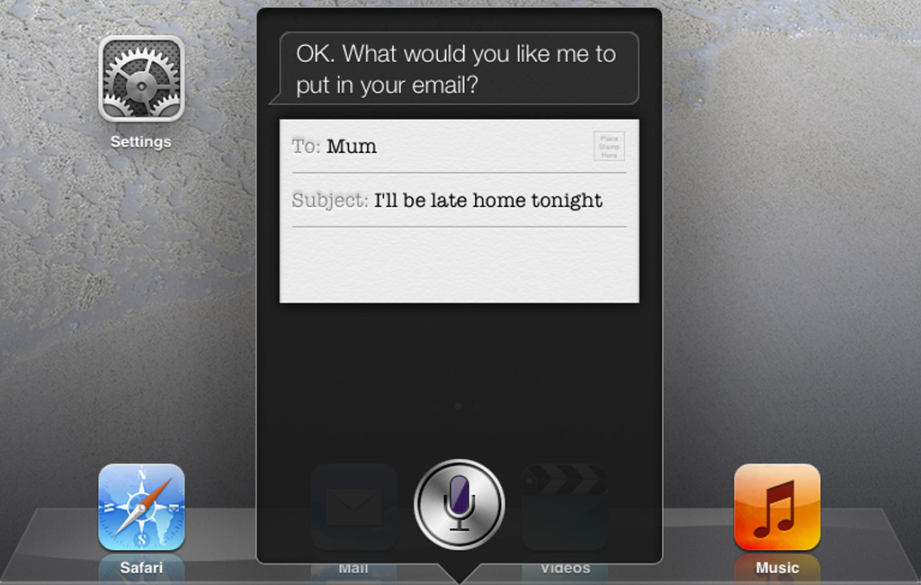 3. Dictate text with Siri