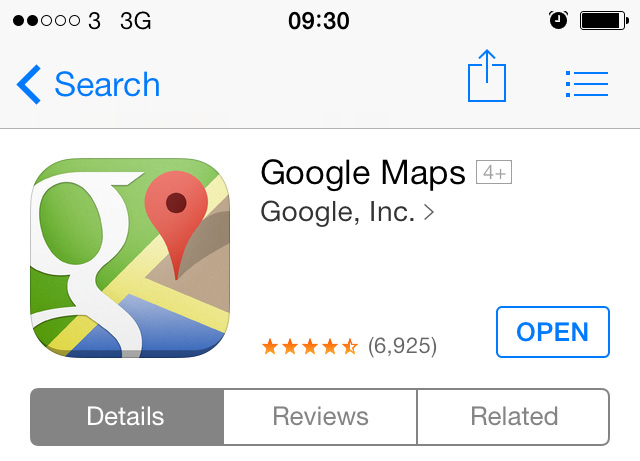 How To Get Google Maps On Iphone And Ipad
