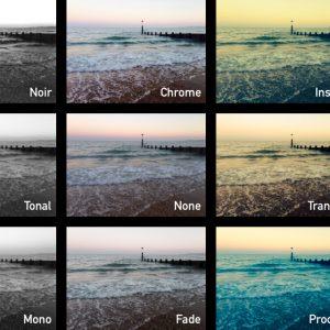 iOS 7 Camera Filters