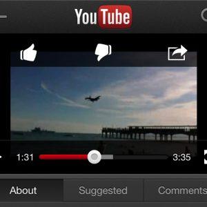 YouTube iMovie featured