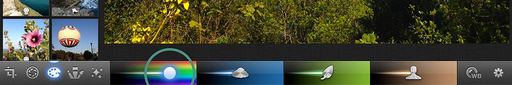 Boost or fade colours iPhoto iPad iPhone