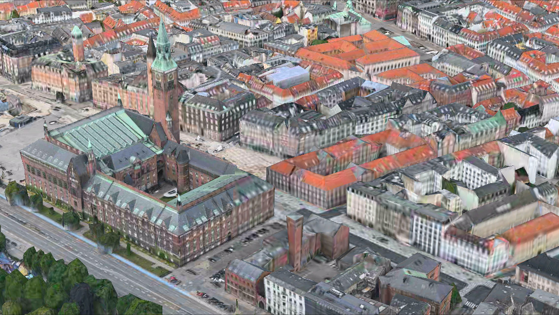 Copenhagen 3D Maps app iPhone