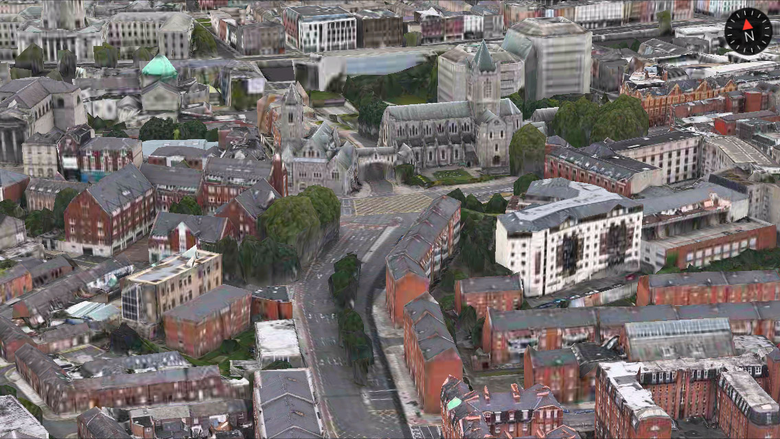 Dublin 3D Maps app iPhone