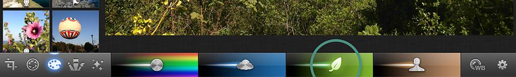 Edit Green Tones iPhoto iPad iPhone