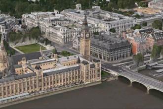 London 3D Maps app iPhone
