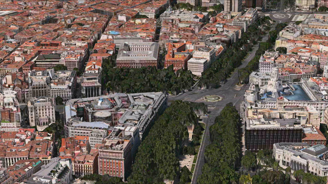 Madrid 3D Maps app iPhone