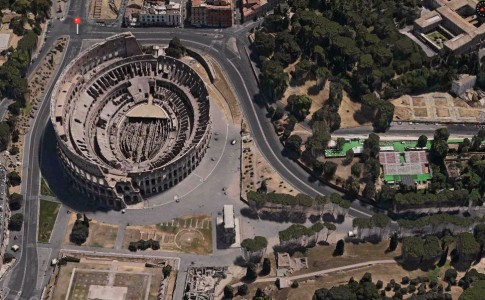 Rome 3D Maps app iOS 7 closer