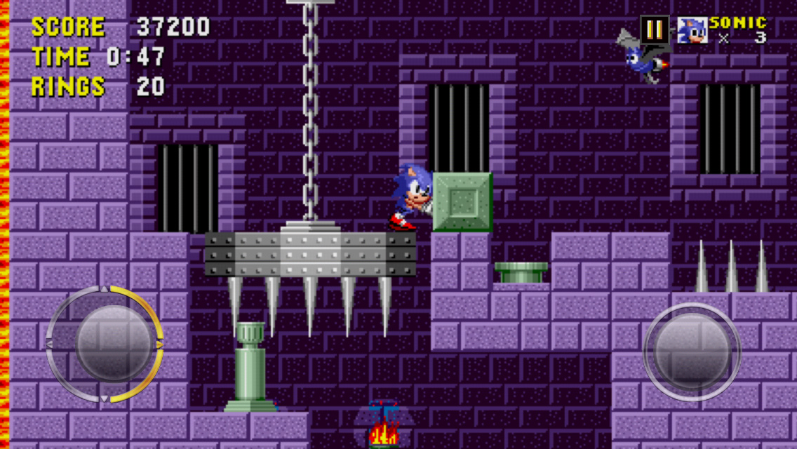Sonic on iPhone