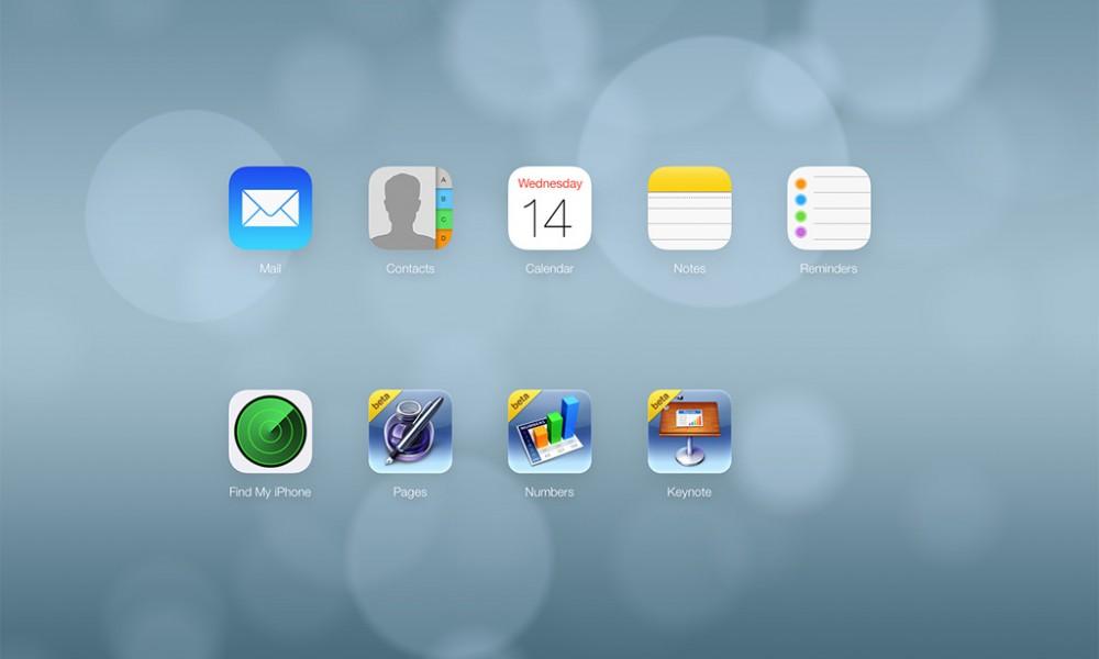 Welcome Screen iCloud iOS 7