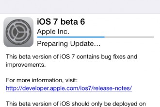 iOS 7 beta 6 featured image