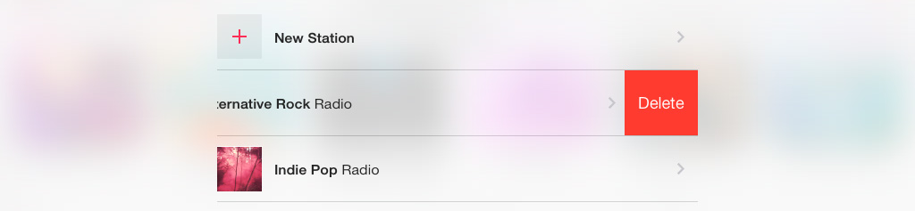 Delete Radio Station iTunes