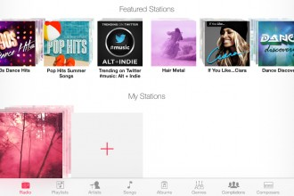 Featured Stations iTunes Radio