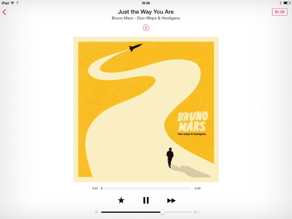 Playing Music iTunes Radio