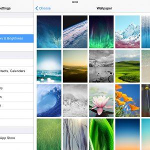 Still wallpapers iOS 7