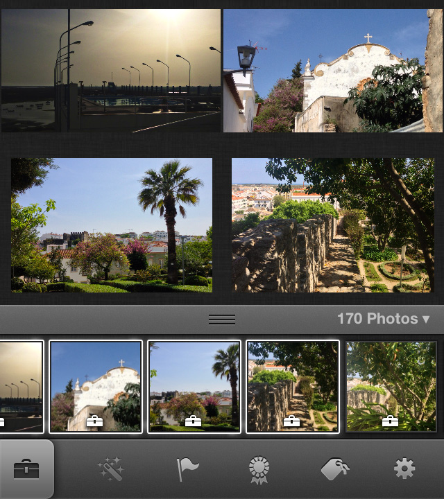 iPhoto select multiple images