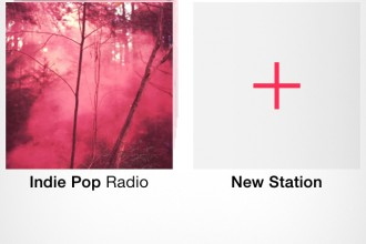 iTunes Radio button iOS 7