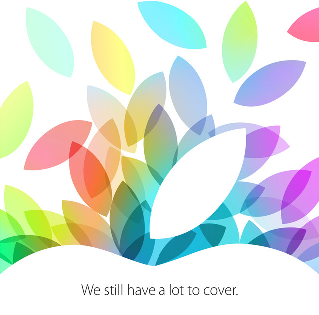Apple October event invite