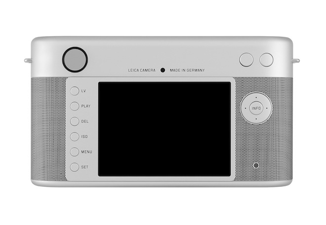 Leica camera back by Jony Ive