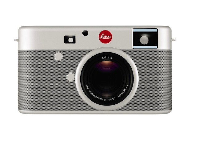 Leica camera front by Jony Ive