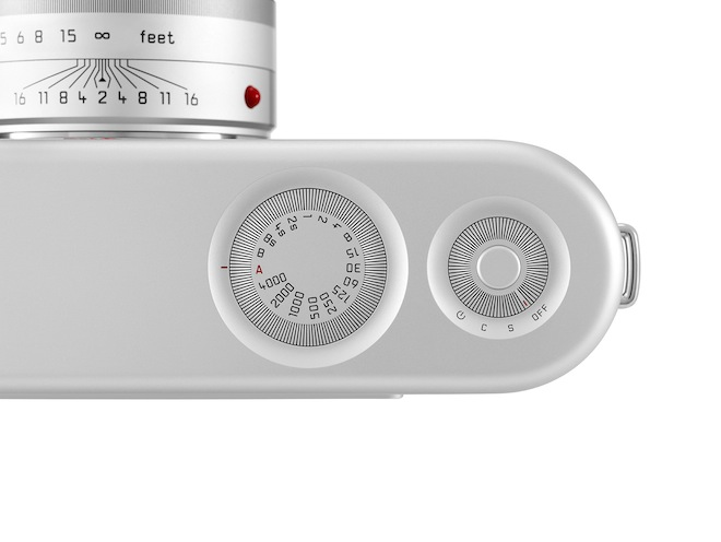 Leica camera top by Jony Ive