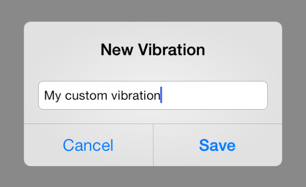 New vibration iPhone