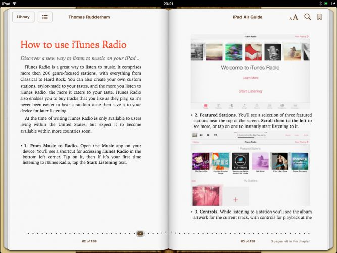 iPad Air Guide Book screenshot