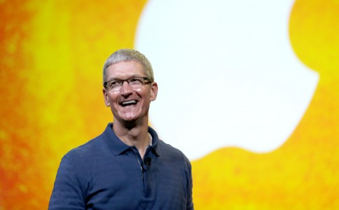 Tim Cook at iPad announcement