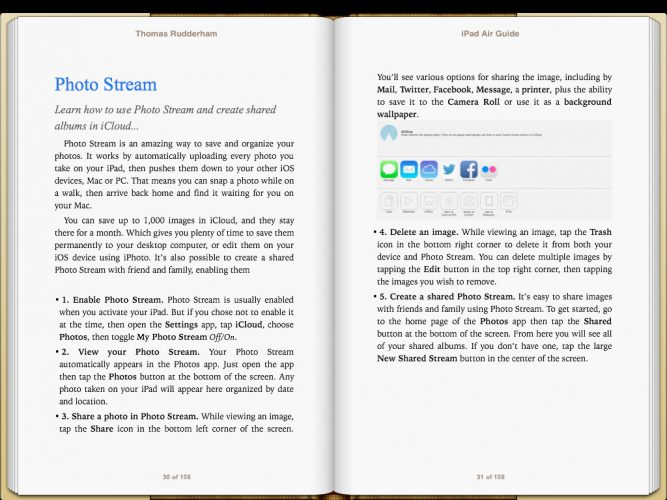iPad Air Guide Book screenshot 3