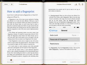 iPhone 5s Guide Book Screen 1