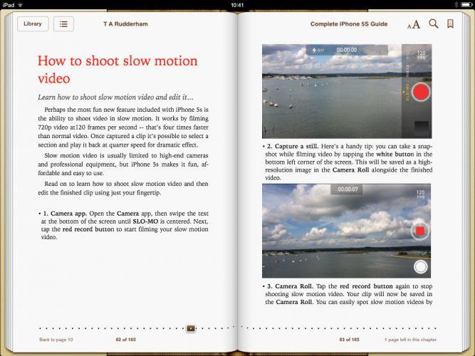 iPhone 5s Guide Book Screen 2