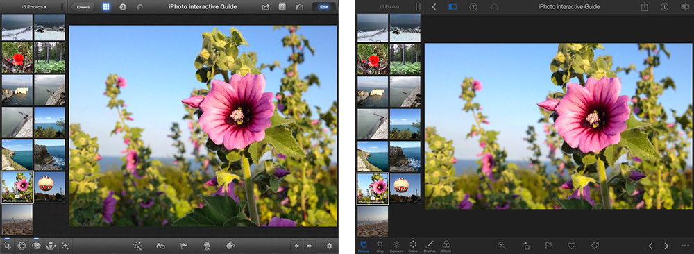 iPhoto iOS 7 Comparison 2 thumb