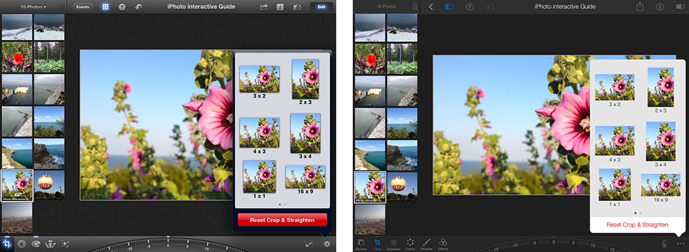 iPhoto iOS 7 Comparison 3 thumb