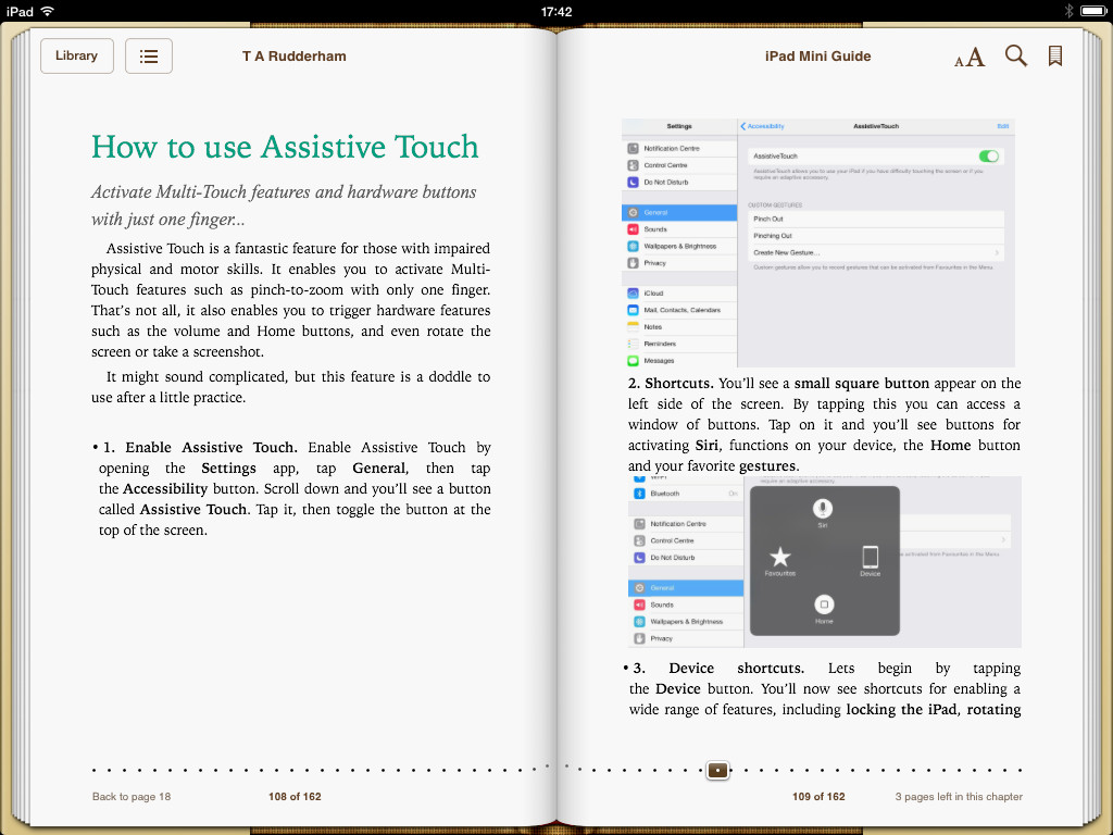 iPad mini book screenshot 3