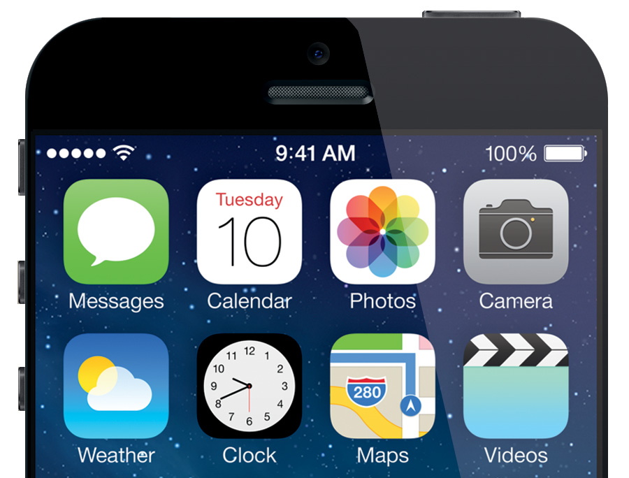 Mockup of the iPhone 6