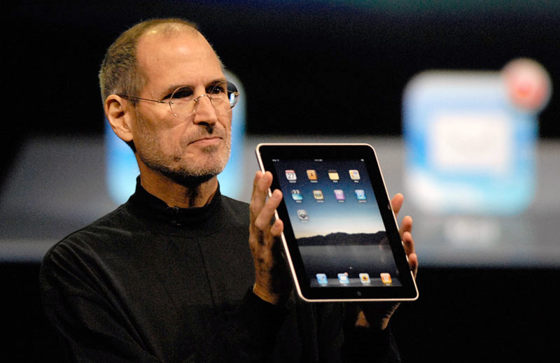 iPad announcement 2010