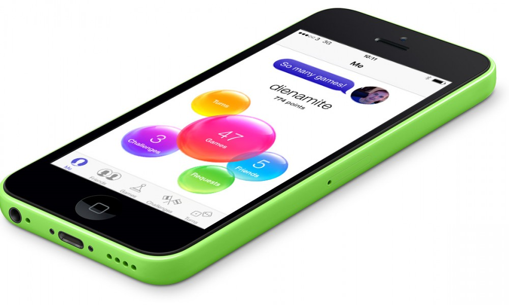 Game Center iPhone 5c