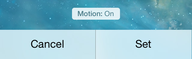 iOS 7 beta 3 parallax setting toggle